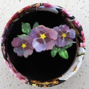 Erstwilder Brooch – Purple Prose (Pansy)