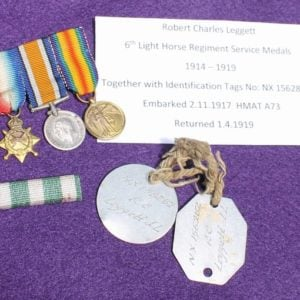 Light Horse Medals & Tags