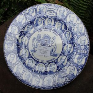 Governors of NSW 150 Years Commemorative Plate