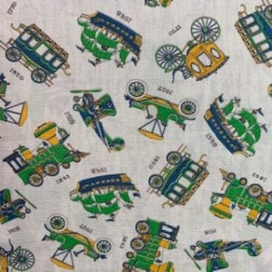 Feed Sack Vintage Fabric – Olden Day Transport