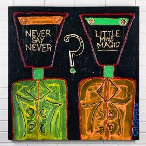 Artwork – Never Say Never, Little Miss Magic