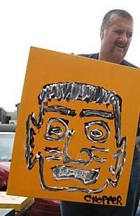 morpeth gallery hunter valley mark brandon chopper read underbelly the boss original artwork
