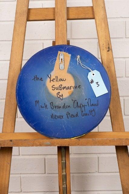 morpeth gallery hunter valley mark brandon chopper read underbelly the yellow submarine original artwork