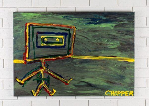 morpeth gallery hunter valley mark brandon chopper read underbelly ned on a windy windey daykelly original artwork