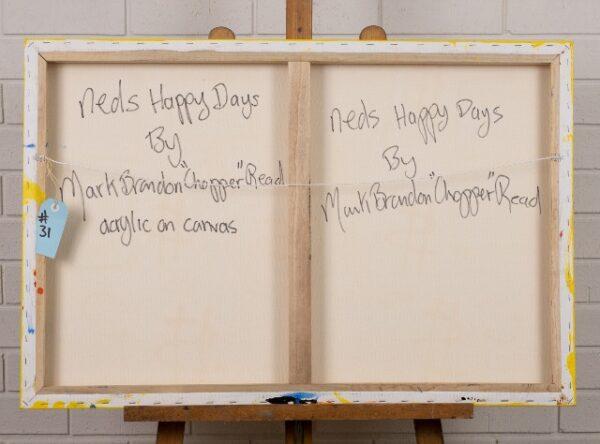 morpeth gallery hunter valley mark brandon chopper read underbelly ned's happy days kelly original artwork