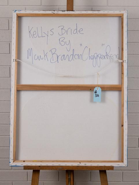 morpeth gallery hunter valley mark brandon chopper read underbelly blue kelly kelly's bride original artwork