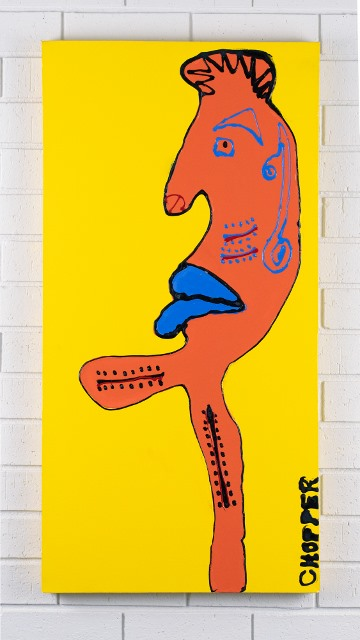 morpeth gallery hunter valley mark brandon chopper read underbelly mister hoddel street original artwork