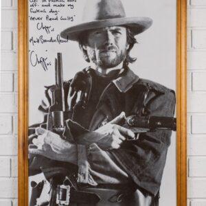 Framed Print of Clint Eastwood