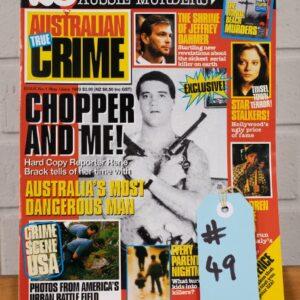 Australian True Crime Magazine – Chopper Article