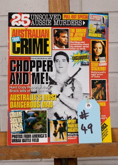 morpeth gallery hunter valley mark brandon chopper read underbelly australian true crime magazine