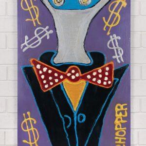 Artwork – Bow Tie Kelly with Orange Signature