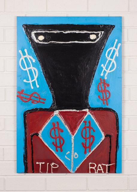 morpeth gallery hunter valley mark brandon chopper read underbelly tip rat kelly original artwork