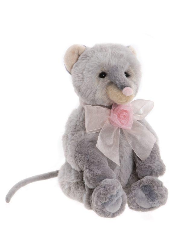 Morpeth Teddy Bears Charlie Hunter Valley Plush Bearhouse collection Houdini grey mouse