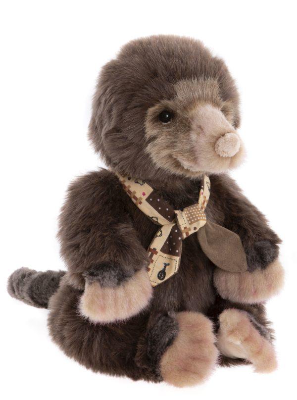 Morpeth Teddy Bears Charlie Hunter Valley Plush Bearhouse collection Burrows mole