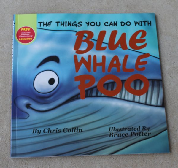 morpeth gift gallery hunter valley chris collin blue whale poo children's book soft cover