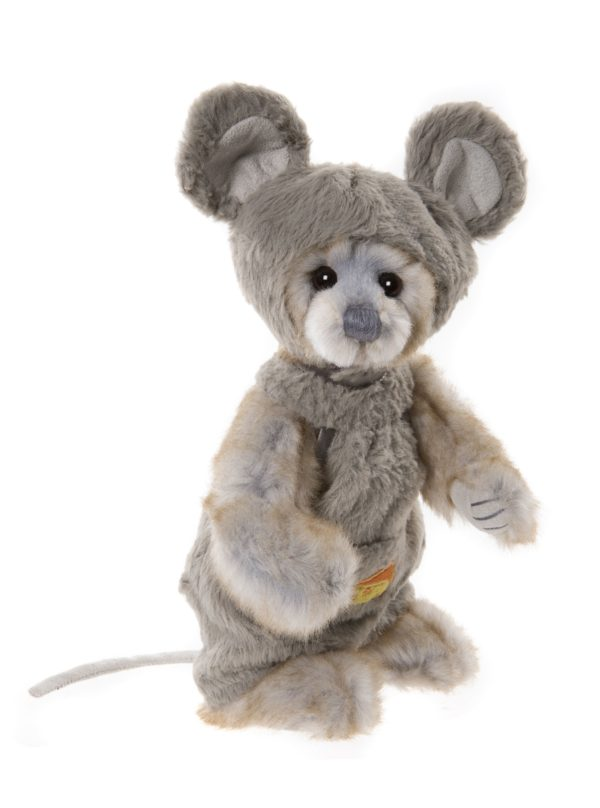 Morpeth Teddy Bears Charlie Bear Plush Collection Hunter Valley Onesie dressed like mouse
