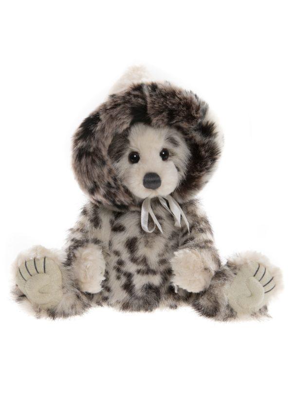 Morpeth Teddy Bears Charlie Bear Plush Collection Hunter Valley Toboggan bear with hat