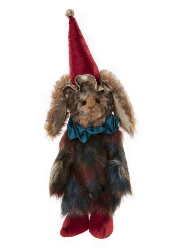 Morpeth Teddy Bears Charlie Bear Plush Collection Hunter Valley Buck clown series dressed like rabbit