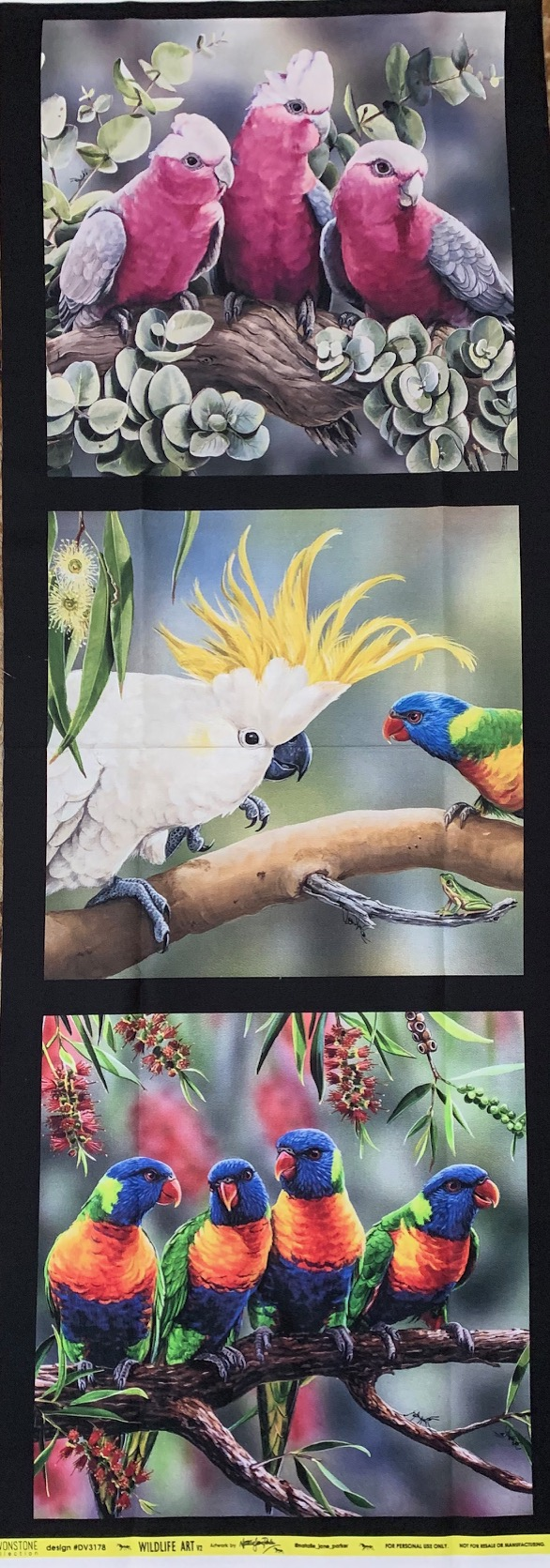 Morpeth Gallery Campbells Store Fabric panels new wildlife art Natalie Jane Parker