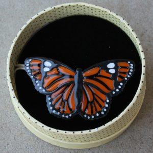 Erstwilder Brooch – Prince of Orange (Butterfly)