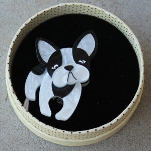 Erstwilder Brooch – Fabian the French Bulldog