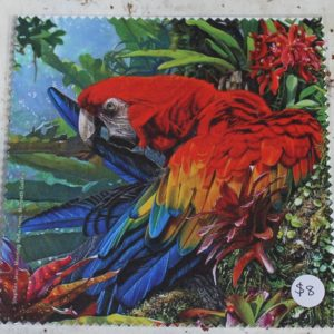 Cleaning Cloth – Macaw Parrot