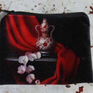 Zip Purse – Oriental Vase