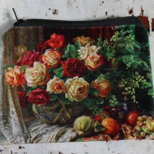 Zip Purse – Roses
