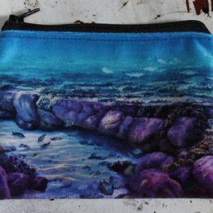 Zip Purse – Ocean Reef