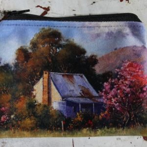 Zip Coin Purse – Country Cottage