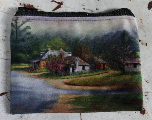 morpeth gift gallery hunter valley zip zippered purse coins toiletries make-up keys john vander berrima village southern highlands new south wales australian country town