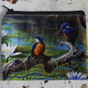 Zip Purse – Kingfishers