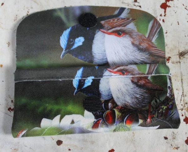 morpeth gift gallery hunter valley glasses case flannel wren blue australian native wild flowers