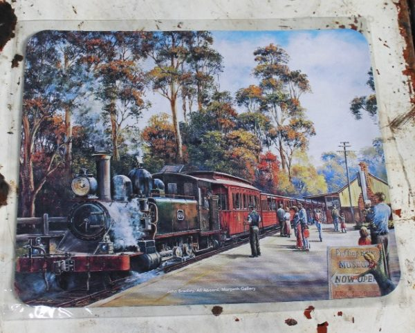 morpeth gift gallery hunter valley computer mouse mat pad john bradley all aboard train steam heritage railway