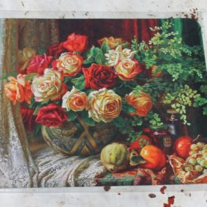 Computer Mouse Mat – Roses