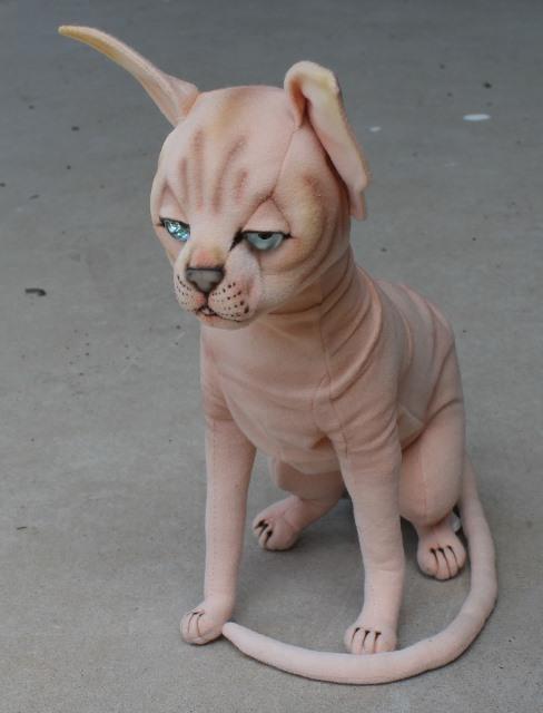 morpeth gift gallery hunter valley hansa plush animal sphinx cat