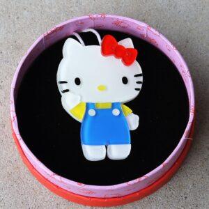 Erstwilder Brooch – Hello Kitty Meet Kitty White