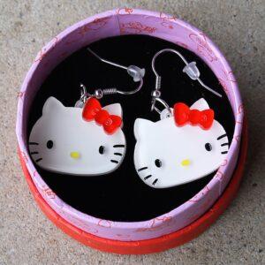 Erstwilder Earrings – Hello Kitty