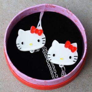 Erstwilder Cardigan Clips – Hello Kitty