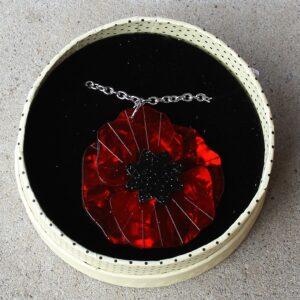 Erstwilder Necklace – Poppy Field