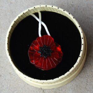 Erstwilder Mini Brooch – Poppy Field