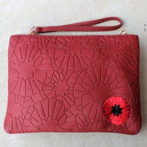 Erstwilder Bag – Poppy Field Clutch