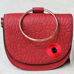 morpeth antique centre hunter valley erstwilder enamel pin brooch earrings cardigan clip neck head scarf handbag clutch card holder poppy field remembrance red lest we forget retro pin up collectable