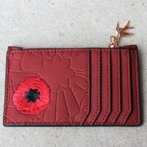 Erstwilder Bag – Poppy Field Card Holder