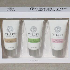 Tilley Hand & Nail Cream Trio
