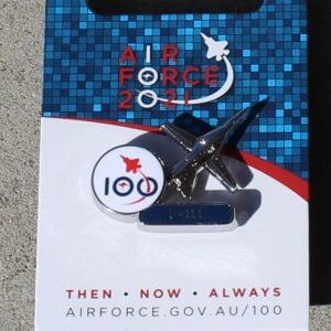 100 Years Air Force Pin – F-111