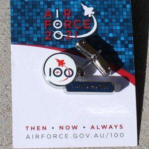 100 Years Air Force Pin – Tiger Moth