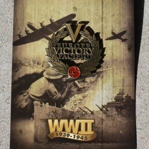 Europe Pacific Victory Day Badge – Wreath