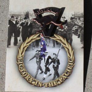 Victory Pacific Day Badge – Kangaroo