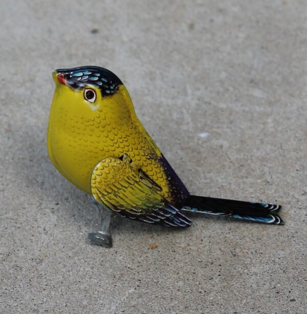 morpeth antique centre gift gallery hunter valley tin toy bird miniature collectable new